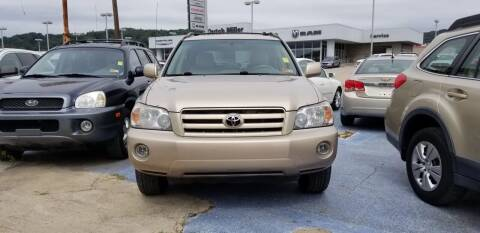 2006 Toyota Highlander for sale at Sissonville Used Cars in Charleston WV