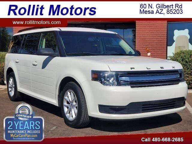 2013 Ford Flex for sale at Rollit Motors in Mesa AZ