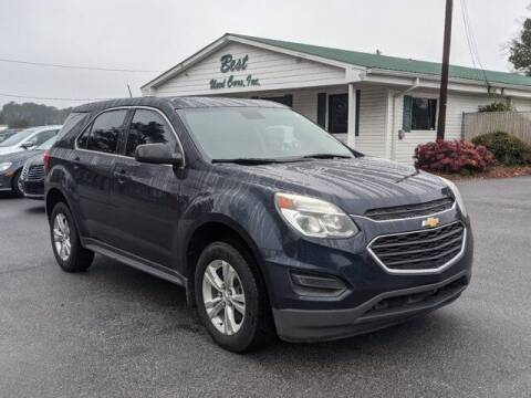 2016 Chevrolet Equinox for sale at Best Used Cars Inc in Mount Olive NC