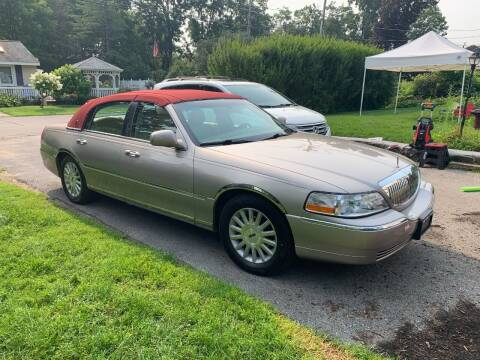 2003 Lincoln Town Car for sale at Saratoga Motors in Gansevoort NY