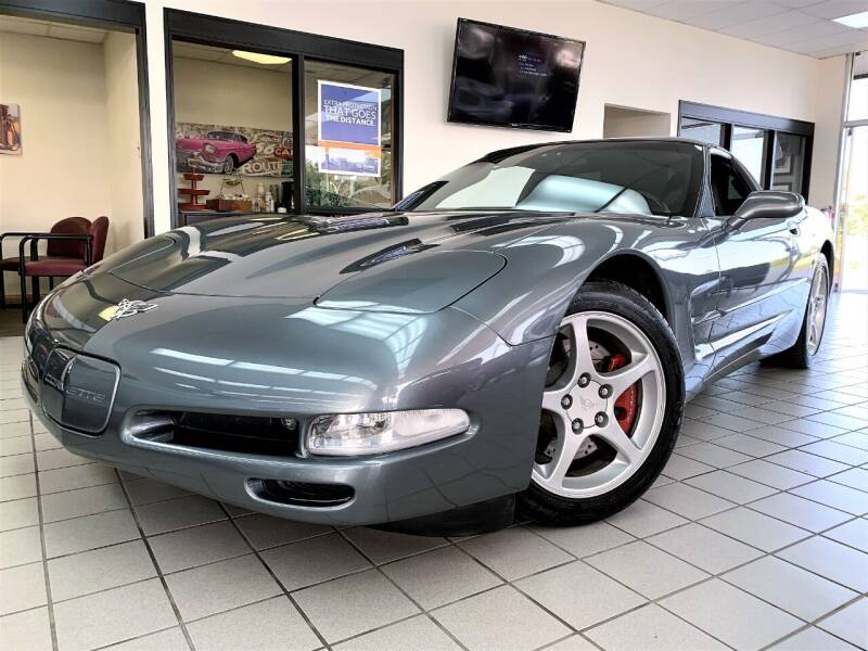2003 Chevrolet Corvette for sale at SAINT CHARLES MOTORCARS in Saint Charles IL