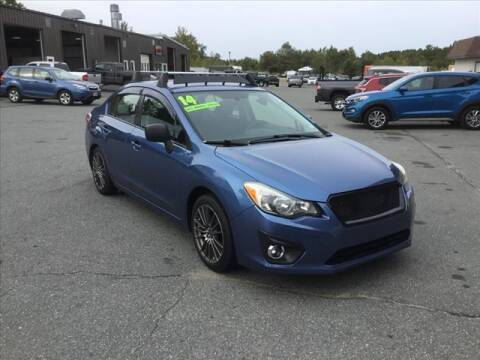 2014 Subaru Impreza for sale at SHAKER VALLEY AUTO SALES in Enfield NH
