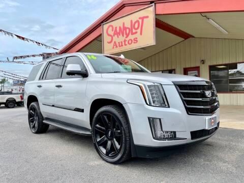 2016 Cadillac Escalade for sale at Sandlot Autos in Tyler TX