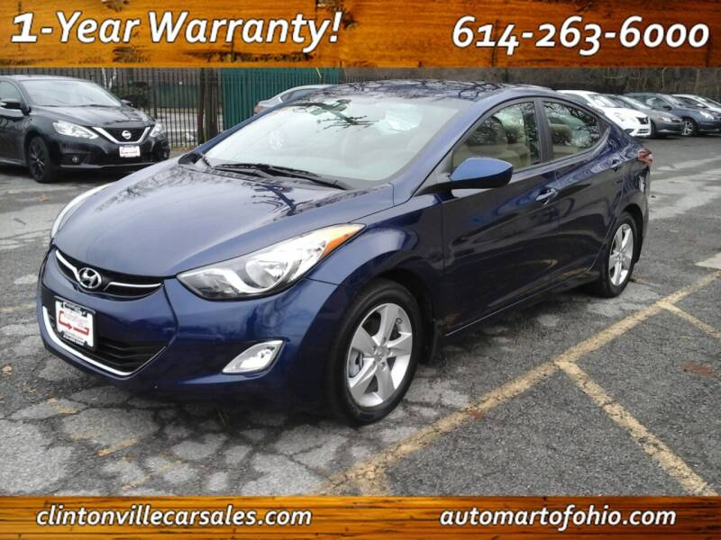 2013 Hyundai Elantra for sale at Clintonville Car Sales - AutoMart of Ohio in Columbus OH