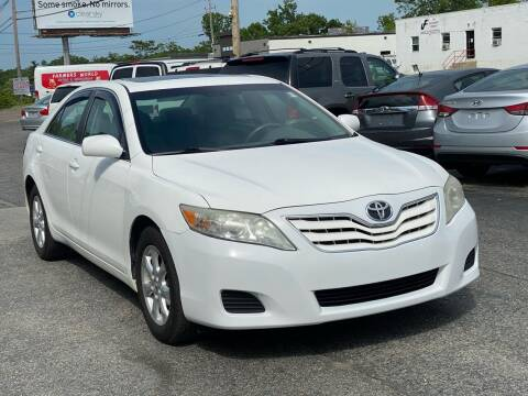2011 Toyota Camry for sale at MetroWest Auto Sales in Worcester MA