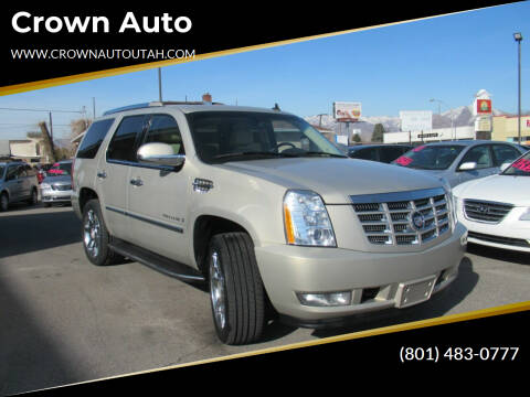 2007 Cadillac Escalade for sale at Crown Auto in South Salt Lake City UT