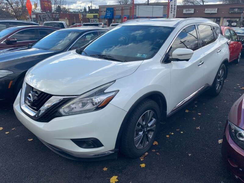 2015 Nissan Murano for sale at Park Avenue Auto Lot Inc in Linden NJ