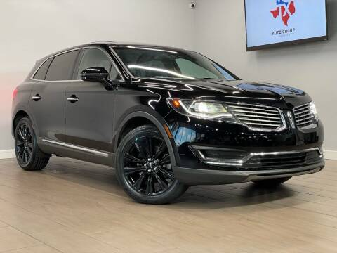 2016 Lincoln MKX for sale at TX Auto Group in Houston TX