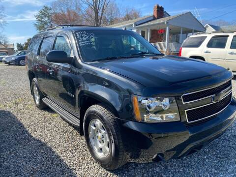 2014 Chevrolet Tahoe for sale at Venable & Son Auto Sales in Walnut Cove NC