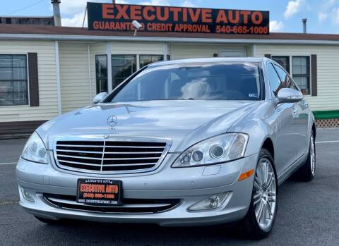 2009 Mercedes-Benz S-Class for sale at Executive Auto in Winchester VA