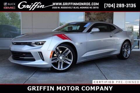 2017 Chevrolet Camaro for sale at Griffin Buick GMC in Monroe NC