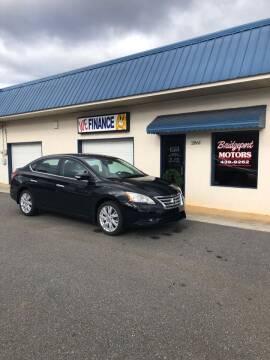 2013 Nissan Sentra for sale at BRIDGEPORT MOTORS in Morganton NC