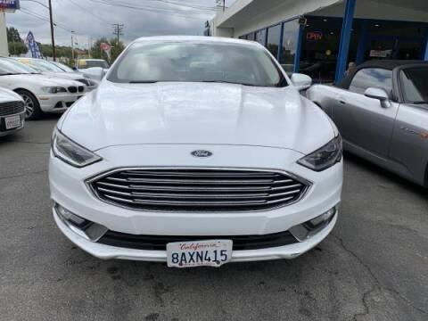 2017 Ford Fusion for sale at CAR CITY SALES in La Crescenta CA