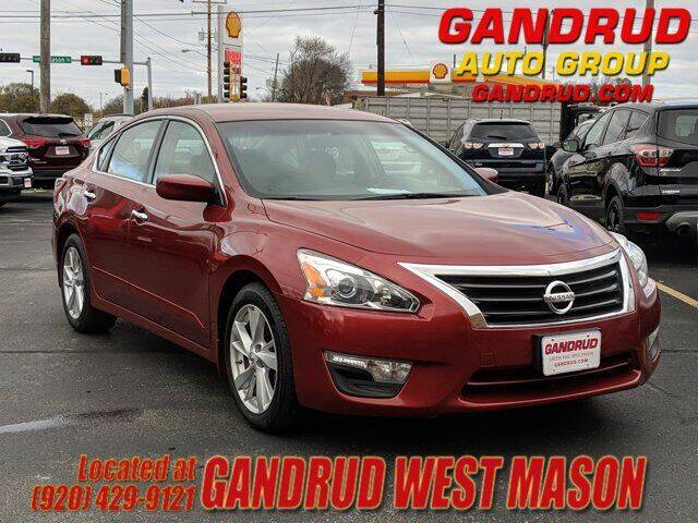 2013 Nissan Altima for sale at GANDRUD CHEVROLET in Green Bay WI