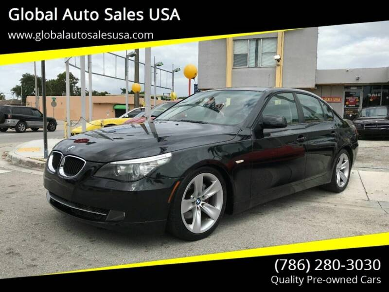 2008 BMW 5 Series for sale at Global Auto Sales USA in Miami FL