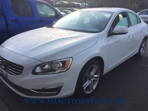 2014 Volvo S60 for sale at J & M Automotive in Naugatuck CT