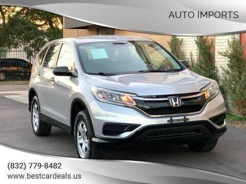 2016 Honda CR-V for sale at Auto Imports in Houston TX