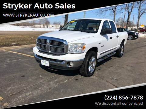 2008 Dodge Ram Pickup 1500 for sale at Stryker Auto Sales in South Elgin IL
