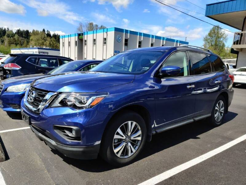 2017 Nissan Pathfinder for sale at Halo Motors in Bellevue WA