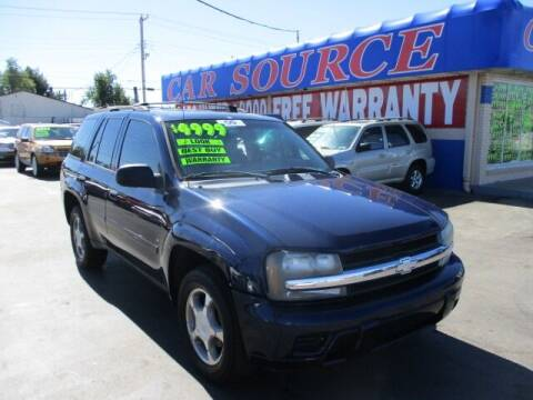 2008 Chevrolet TrailBlazer for sale at CAR SOURCE OKC in Oklahoma City OK
