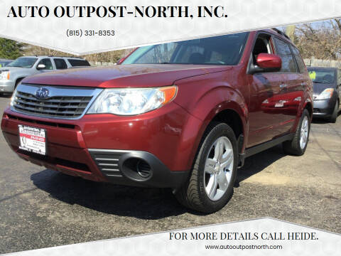 2009 Subaru Forester for sale at Auto Outpost-North, Inc. in McHenry IL