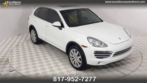 2014 Porsche Cayenne for sale at Excellence Auto Direct in Euless TX