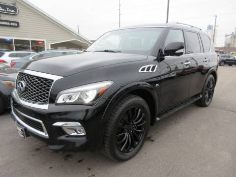 2015 Infiniti QX80 for sale at Dam Auto Sales in Sioux City IA