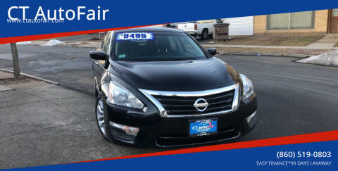 2015 Nissan Altima for sale at CT AutoFair in West Hartford CT