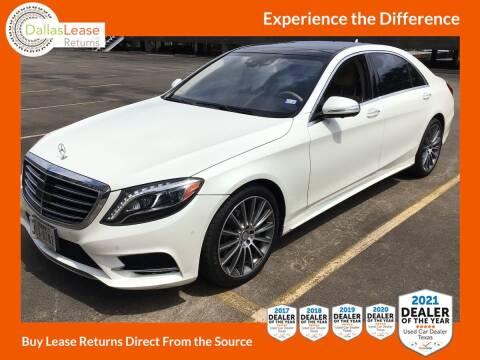2017 Mercedes-Benz S-Class for sale at Dallas Auto Finance in Dallas TX