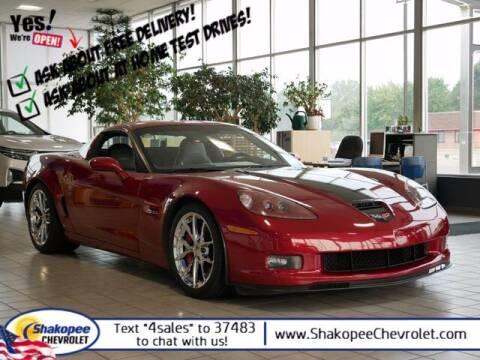 2008 Chevrolet Corvette for sale at SHAKOPEE CHEVROLET in Shakopee MN