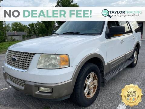 2003 Ford Expedition for sale at Taylor Trading in Orange Park FL