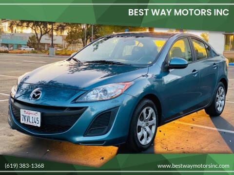 2011 Mazda MAZDA3 for sale at BEST WAY MOTORS INC in San Diego CA
