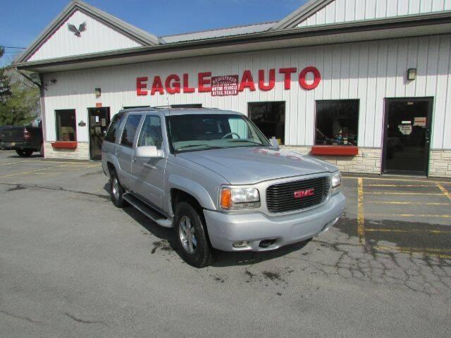 2000 GMC Yukon for sale at Eagle Auto Center in Seneca Falls NY