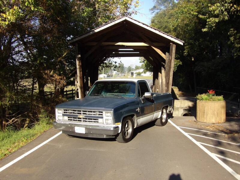 1987 Chevrolet R/V 10 Series for sale at Johns Auto Sales in Tunnel Hill GA
