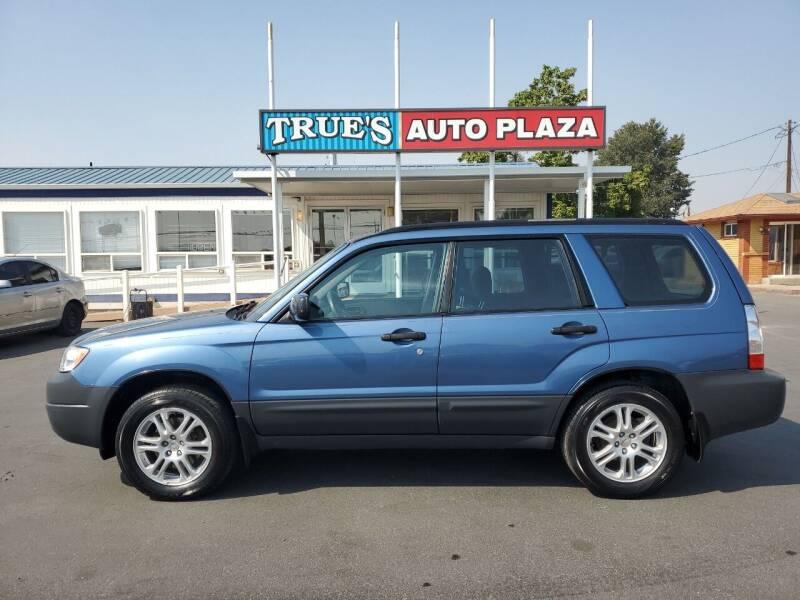 2007 Subaru Forester for sale at True's Auto Plaza in Union Gap WA