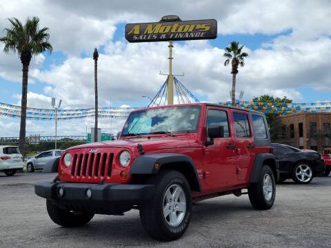 2010 Jeep Wrangler Unlimited for sale at A MOTORS SALES AND FINANCE in San Antonio TX