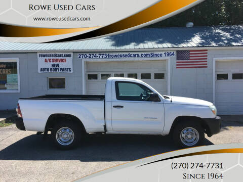2010 Toyota Tacoma for sale at Rowe Used Cars in Beaver Dam KY