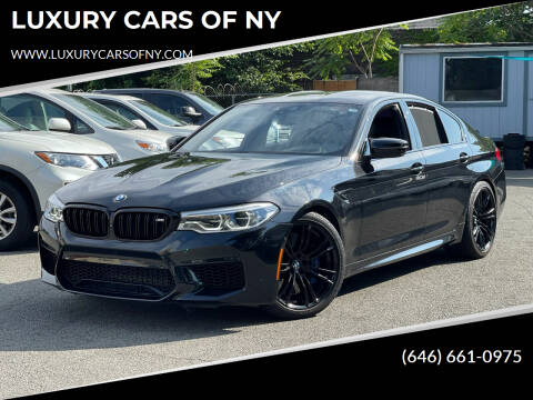2019 BMW M5 for sale at LUXURY CARS OF NY in Queens NY