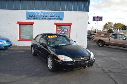 2007 Ford Taurus for sale at CARGILL U DRIVE USED CARS in Twin Falls ID