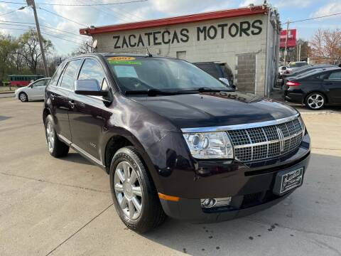 2007 Lincoln MKX for sale at Zacatecas Motors Corp in Des Moines IA