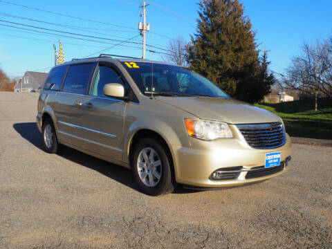 2012 Chrysler Town and Country for sale at Crestwood Auto Sales in Swansea MA