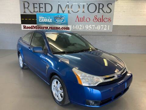 2008 Ford Focus for sale at REED MOTORS LLC in Phoenix AZ