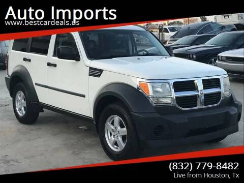 2007 Dodge Nitro for sale at Auto Imports in Houston TX