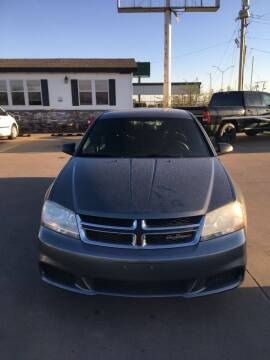 2013 Dodge Avenger for sale at Zoom Auto Sales in Oklahoma City OK