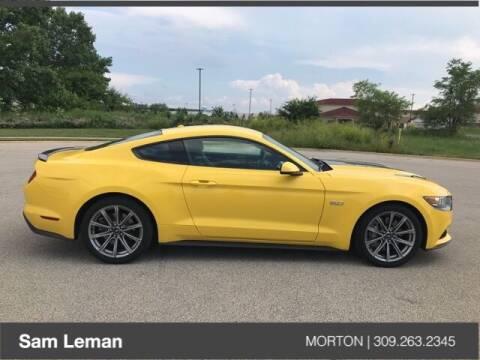 2015 Ford Mustang for sale at Sam Leman CDJRF Morton in Morton IL