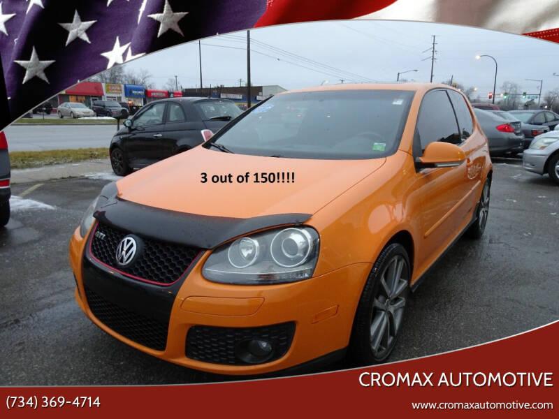 2007 Volkswagen GTI for sale at Cromax Automotive in Ann Arbor MI
