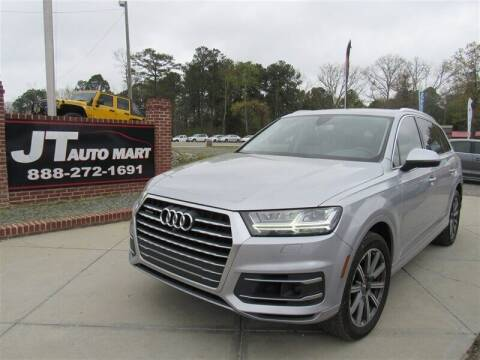 2017 Audi Q7 for sale at J T Auto Group in Sanford NC