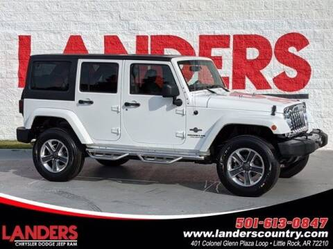 2014 Jeep Wrangler Unlimited for sale at The Car Guy powered by Landers CDJR in Little Rock AR
