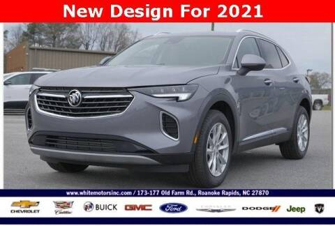 2021 Buick Envision for sale at WHITE MOTORS INC in Roanoke Rapids NC