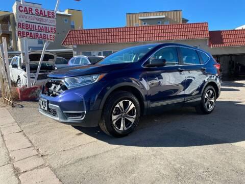 2017 Honda CR-V for sale at STS Automotive in Denver CO